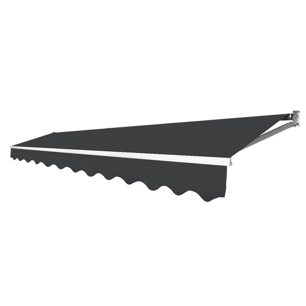 Retractable Outdoor Arm Awning 4 X 3m Grey Green Thumb Shop